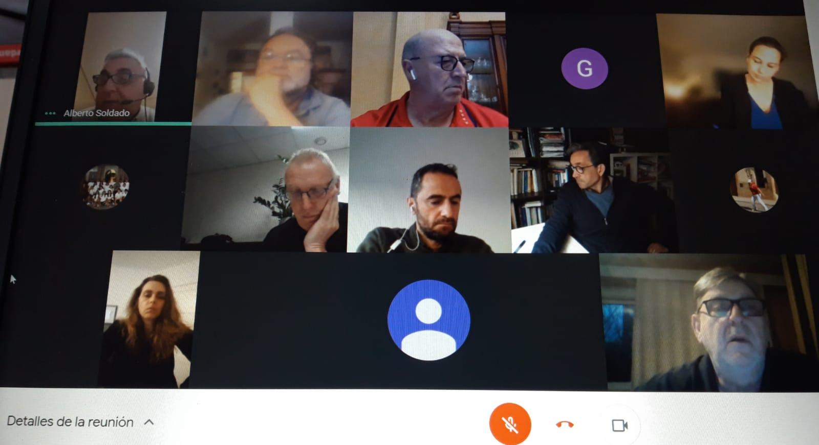 Reunión telemática de la CIJB