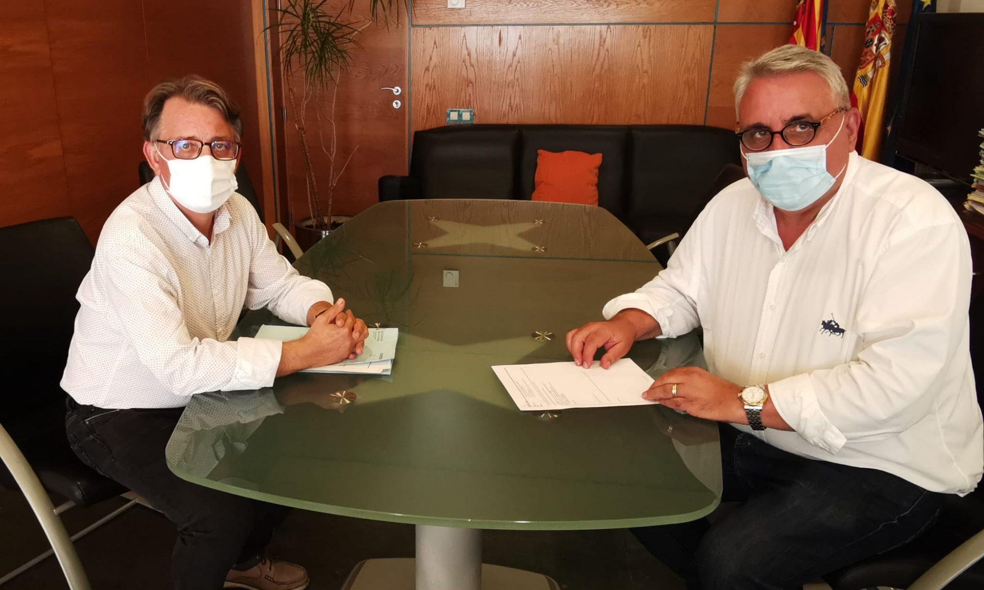 Reunión entre la Generalitat y la CIJB